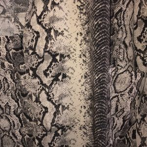 Dynamite Dresses - Snake skin fabric blazer dress